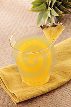 Pineapple Juice Stock Images - Image: 14596864