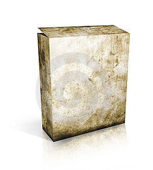 Software 3D Box Royalty Free Stock Image - Image: 14596956