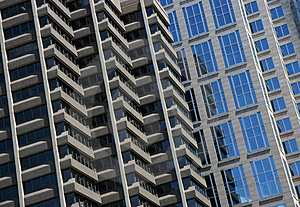 Corporate Building Facade Royalty Free Stock Photography - Image: 1462757