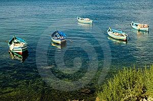 Fishing Boats At The Shore Stock Photo - Image: 1463410