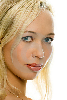 Sexy Blonde Portrait Stock Photography - Image: 1464682