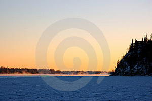 Frozen Sunset Stock Photography - Image: 1467092
