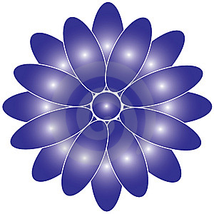 Purple Flower Illustration Stock Images - Image: 14600214