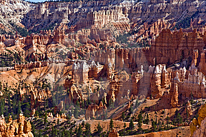 Bryce Canyon With Stone Formation Stock Photo - Image: 14600930