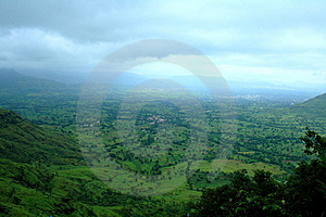 Distant Landscape Scene Stock Photography - Image: 14601802