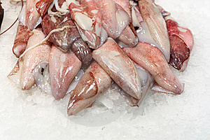 Filet Of Fish On Ice At Market Royalty Free Stock Images - Image: 14601909