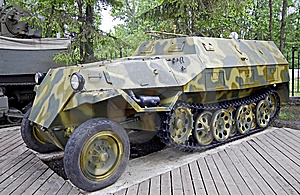 Armored Troop-carrier 1 Stock Photos - Image: 14602103