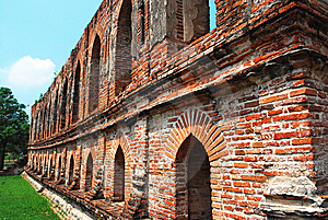 Wall Of Old Palace. Stock Photography - Image: 14604142