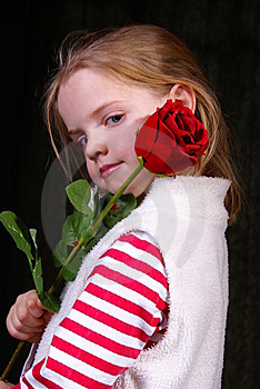 Flower Girl Royalty Free Stock Image - Image: 14604226