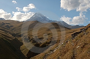 Kazbeg View Royalty Free Stock Photography - Image: 14605877