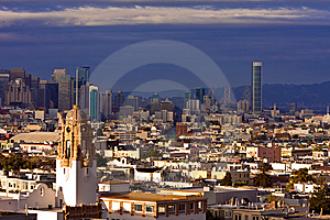 San Francisco Cityscape Stock Images - Image: 14606004