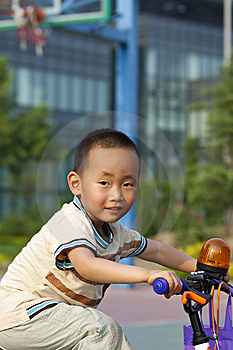 Asian Boy Riding Stock Images - Image: 14606204