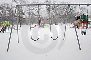 Empty Playground Stock Image - Image: 14606491