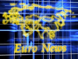 Europe Map Stock Image - Image: 14607821