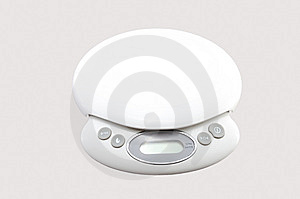 Electronic Kitchen Scales Stock Images - Image: 14607994