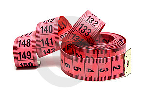 Measuring Ribbon Royalty Free Stock Image - Image: 14609376