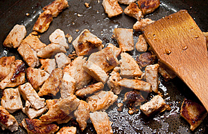 Fried Pork Stock Images - Image: 14611424