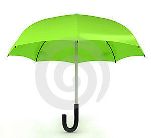 Color umbrella Free Stock Photography