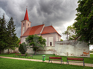 Church In Village Studienka Royalty Free Stock Photo - Image: 14622875