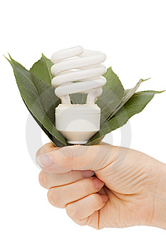 Hand Holding Compact Lamp Royalty Free Stock Photo - Image: 14626495