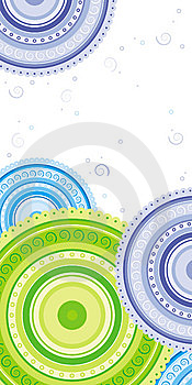 Circles With Spirals Stock Images - Image: 14627024