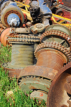 Rusty Gears Royalty Free Stock Photos - Image: 14627088