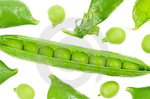 Pea Pod Stock Images - Image: 14632984