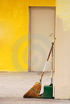 Broom And Dustpan Stock Images - Image: 14633444
