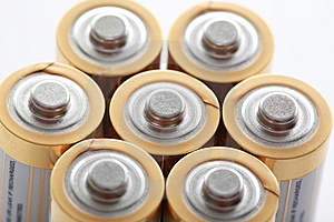 Group Of Batteries Royalty Free Stock Photography - Image: 14633737
