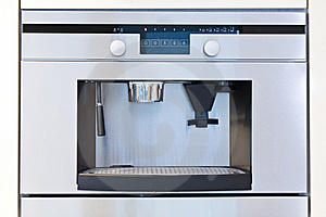 Detail Of A Built In Coffee Machine Stock Photo - Image: 14633950