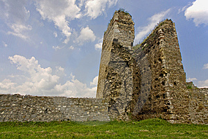 Ruined Tower Royalty Free Stock Images - Image: 14633959