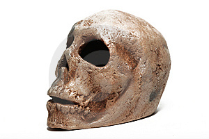 Human Skull Royalty Free Stock Images - Image: 14634539