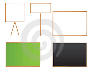 Blank Boards Stock Image - Image: 14634641
