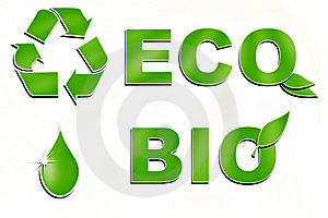 Ecological Signs Royalty Free Stock Photography - Image: 14635447