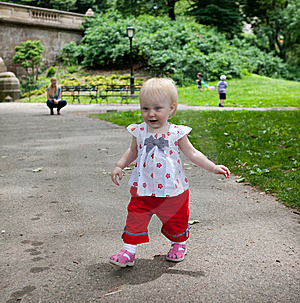 Baby In The Park Stock Photos - Image: 14635953