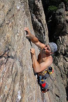 Rock Climber Royalty Free Stock Photos - Image: 14636198