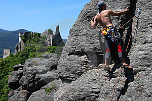Climber Stock Images - Image: 14636214