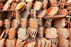 Red Tile Royalty Free Stock Image - Image: 14639646