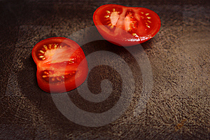 Segments Of Tomatoes Stock Photography - Image: 14640802
