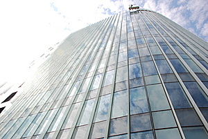 Building Perspective (glass Wall) Stock Image - Image: 14640901