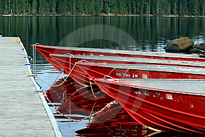 Red Boats At Dock Stock Images - Image: 14641094