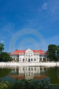 Bang Pa-in Palace Royalty Free Stock Image - Image: 14642996