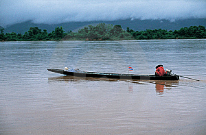 Mekong River, Thailand - Laos Royalty Free Stock Photo - Image: 14643225
