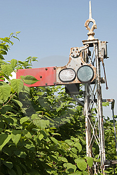Old Railway Signal Stock Photos - Image: 14646643