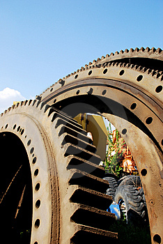 Gear Wheel Stock Image - Image: 14649091