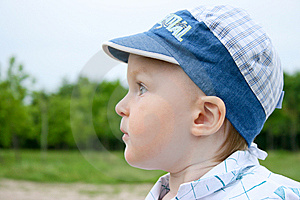 Little Boy In The Cap Stock Photo - Image: 14649220
