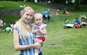 Happy Mom  And Baby Stock Photo - Image: 14650890