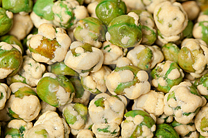 Wasabi Peas Royalty Free Stock Images - Image: 14651159