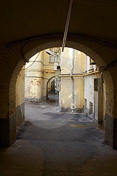 Dark City Gate Royalty Free Stock Photography - Image: 14651627