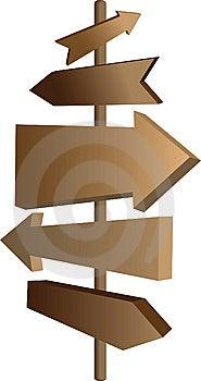 Arrows Vector Guide Sign Royalty Free Stock Photos - Image: 14652428